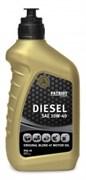 Масло PATRIOT DIESEL  полусинтетическое SAE 10W-40 API CF-4 0,946.л
